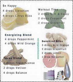 essential oil combinations