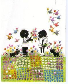 I loved reading Jip and Janneke :)