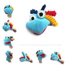 Crochet Puppet - Tutorial ❥ 4U hilariafina http://www.pinterest.com/hilariafina/