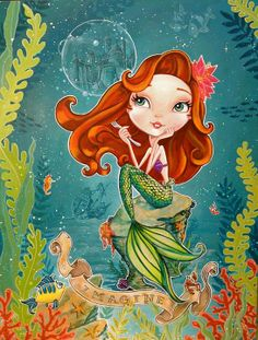 The Little Mermaid by John Coulter