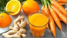 Orange Carrot and Ginger Detox Juice is sweet refreshing healthy fresh and simple. Oranges are full of vitamins C and A. These vitamins give your immune. Healthy Juice Recipes, Healthy Juices, Healthy Drinks, Smoothie Recipes, Smoothie Detox, Eat Healthy, Detox Your Liver, Liver Cleanse, Juice Cleanse