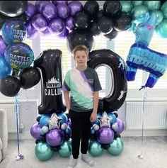 Birthday Party Treats, 9th Birthday Parties, Birthday Party Outfits, Birthday Games, 10th Birthday, Birthday Balloon Decorations, Birthday Balloons, Kids Spa Party, 16 Balloons