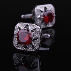 Dark Red Cufflinks