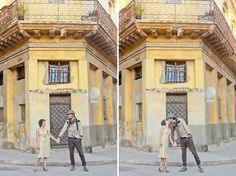 Engagement photos in Havana... seriously, I need to travel!