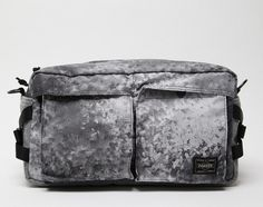 White Mountaineering x PORTER – Digital Camo Corduroy Waist Pack
