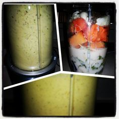 #morning #zip 50% #spingmix #spinach #chobani #papaya #flaxseed #ginger #cantaloupe #yum #nutribullet #nutriblast The ginger really works well in this! #flavor #popping