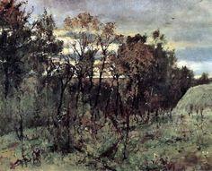 Осенний вечер. Домотканово. 1886. Серов Валентин Александрович (1865-1911)