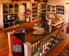 || Arte Rovere Antico - Photo by Duilio Beltramone for Sgsm.it || Casa Golfo del Tigullio -  Lavagna - Italy - Wood Interior Design - Mountain House