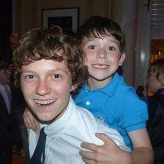 Tom with braces