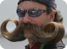 Check out Embarrassing #Mustache Fails. What do you think of #5's asymmetric look!