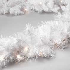 Have to have it. Winter Park 9 ft. Pre-lit Garland $39.98 Hayneedle
