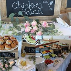 This recent bridal shower created a brunch menu for their special celebration!