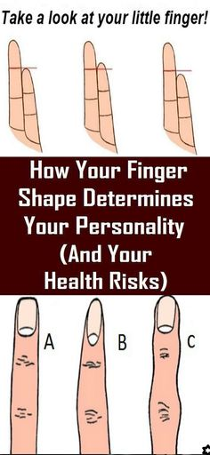 >How Your Finger Shape Determines Your Personality (And Your Health Risks<