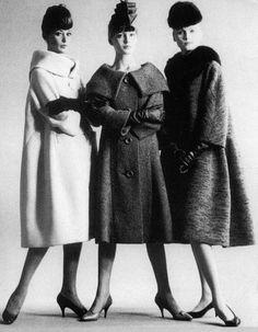 6. Three Coats from Pierre Cardin, 1958