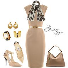 A fashion look from June 2014 featuring Michael Kors dresses, Jimmy Choo pumps and Michael Kors shoulder bags. Browse and shop related looks.