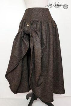 Jupes - site My Oppa Steampunk, Harem Pants, Skirts, Fashion, Skirt, Moda, Harem Trousers, Fashion Styles