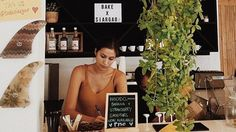 Rachel Peters' Coffee Shop Is Next on Our Travel Bucket List Siargao, Us Travel, Coffee Shop, Bucket, Lettering, Beach, Shopping, Coffee Shops, Coffeehouse