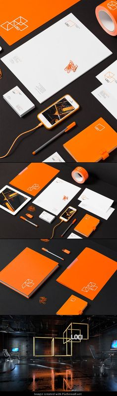 LOCI Corporate Design by for brands #branding #identity #design