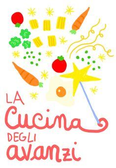 """Con Fabiano Guatteri, la nuova rubrica: la cucina degli avanzi, in tema """"Nutrire il Pianeta"""" e di educazione alimentare."""