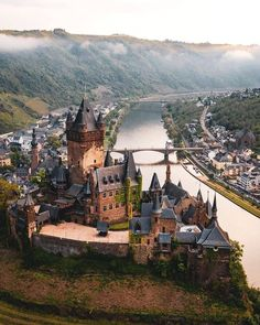 Cochem Castle, Germany You are in the right place about Train travel food Here we offer you the most beautiful pictures about the Train travel canada you are looking for. When you examine the Cochem C Cochem Germany, Rothenburg Germany, Baden Germany, Potsdam Germany, Nuremberg Germany, Bavaria Germany, Beautiful Castles, Beautiful Places, Wonderful Places