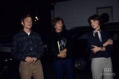 Ron Howard with Penny Marshall and Cindy Williams G2994c Photo by Alpha-Globe Photos, Inc.