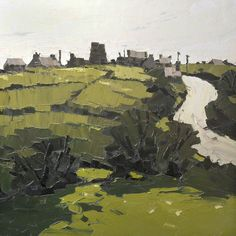 "Kyffin Williams ""Hermon"" Oil on canvas, 91 x 91 cm"
