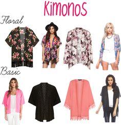 NEW SPRING 2014 TREND:Kimonos