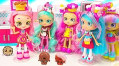 It's the new Shopkins Shoppies fashion collector dolls! Two super cute fashion dolls Jessicake, and Peppa Mint welcome new friend Donatina! Shopkins Season 6, New Shopkins, Shoppies Dolls, Shopkins And Shoppies, Frozen Queen, Queen Elsa, Chubby Puppies, Cookie Swirl C, Play Doh