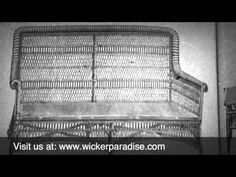 http://www.wickerparadise.com Shows off the best wicker furniture from the Heywood Brothers and Wakefield Company 1899 Catalog.