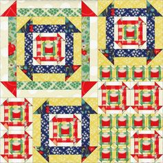 Want it, Need it, Quilt!: Nested Churn Dash