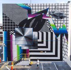 by Felipe Pantone in Melbourne, 10/15 (LP)