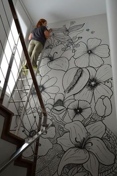 Mama Josefa: My vertical garden Related posts:Leather RhombsPlanets and Solar System Wall muralRed Poppies - Large Wall Mural, Self-adhesive Vinyl Wallpaper, Peel & Stick fabric wall decal