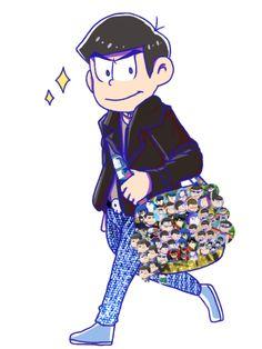 Osomatsu san, Karamatsu (M: it hurts)