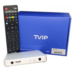 IPTV TVIP 605 WE Box WiFi White Edition Linux, Quad, Audio, Android, Power Strip, Box, Wifi, Container, Weather Forecast