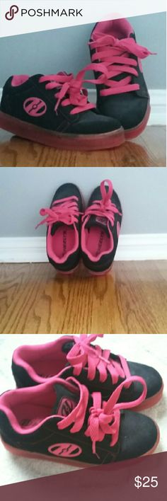 Heelys Roller Shoes Y Size 2 Heelys roller shoes youth Size 2.  Missing tool.  Practically new.  Used a few times only. heelys  Shoes Flats & Loafers