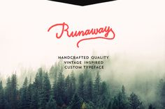 http://www.thehungryjpeg.com/download/free-runaway-typeface/