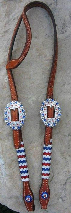 This would go awesome with some red, white, and blue reins from CCD!