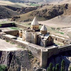 The Armenian Monastic Ensembles of Iran, in the north-west of the country, consists of three monastic ensembles of the Armenian Christian faith: St Thaddeus and St Stepanos and the Chapel of Dzordzor. These edifices - the oldest of which, St Thaddeus, dates back to the 7th century