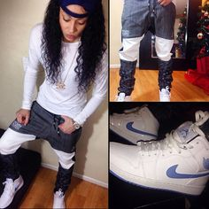 Would never pull this off but I love Dope Fashion, Tomboy Fashion, Urban Fashion, Tomboy Outfits, Dope Outfits, Fashion Outfits, Fashion Trends, Tomboy Look, Tomboy Chic