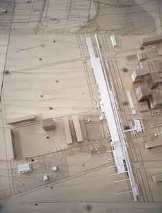 Architectural Model - Urban satellite by Alexander Daxböck