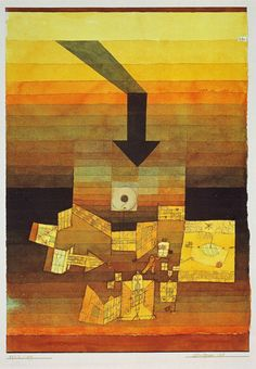 Paul Klee, Affected Place, 1922