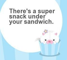 Add a Golden Moment to your kid's lunches with a special personalised message on our Lunchbox notes.