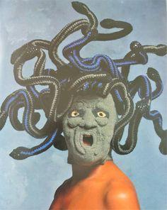 Amazing crochet Medusa mask from Nicki Hitz Edson