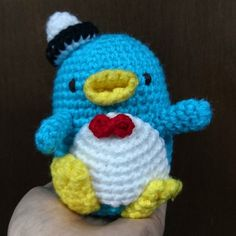 Penguin Amigurumi. Check this out on our @shopee_my store. Link to store in profile #crochet #handmade #penguin #craft #instacrochet #colourful #crochetkaki #amigurumi #ShopeeMY by crochetkaki