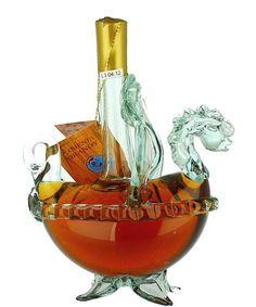 Armenian Brandy Viking Ship. Alcohol Bottles, Liquor Bottles, Bottles And Jars, Drink Bottles, Perfume Bottles, Armenian Brandy, Spirit Drink, Liquor Dispenser, Viking Ship