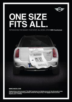 Mini Countryman Ad #minicooper #fun #cars