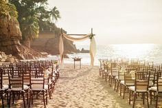 Simple arbor in a sun-filled setting via @Nordstrom www.themodernjewishwedding.com