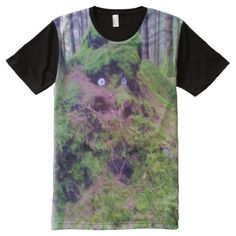 Shop The Forest Troll All-Over-Print T-Shirt created by ZierNorShirt. Personalize it with photos & text or purchase as is! Types Of T Shirts, Troll, Funny Tshirts, Mens Tops, Garden, Unique, Art, Products, Art Background