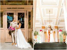 Main Street Station Wedding Inspiration | Richmond, Virginia - jontellvanessa.com