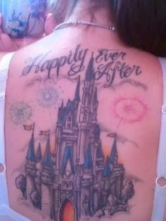 Magic Kingdom back piece-love it!!